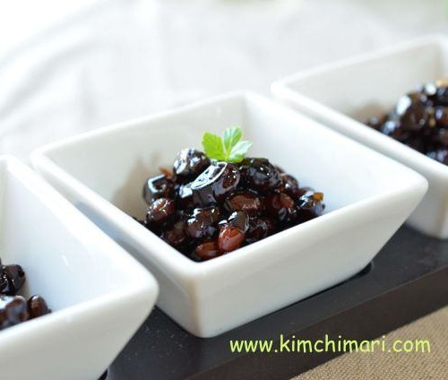 Korean Sweet and Salty Soybeans