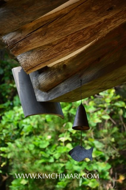 Korean traditional wind chime (풍경 pungkyeong)