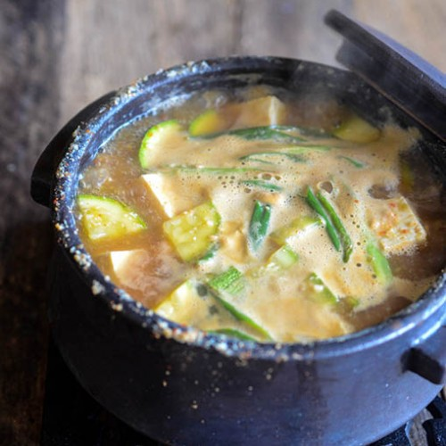 Korean Soybean Paste Stew