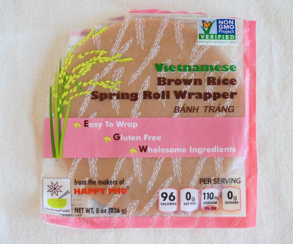 Brown Rice Wrapper