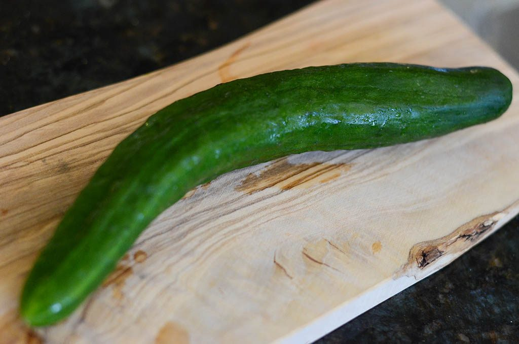 whole japanese cucumber