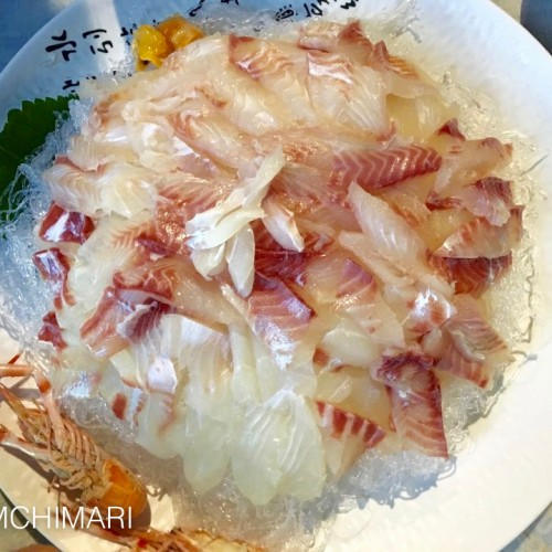 Sea Bream Hoe (Sashimi) at Jeju Island