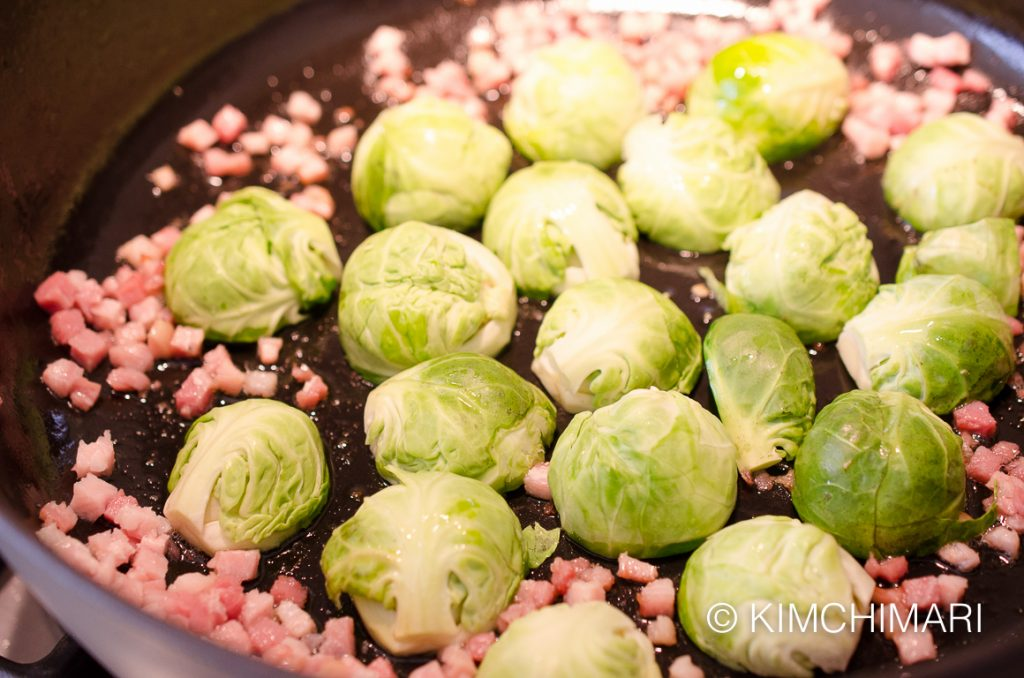 Brussels Sprouts in oil