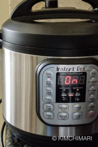 Instant Pot Stew function for Short Ribs