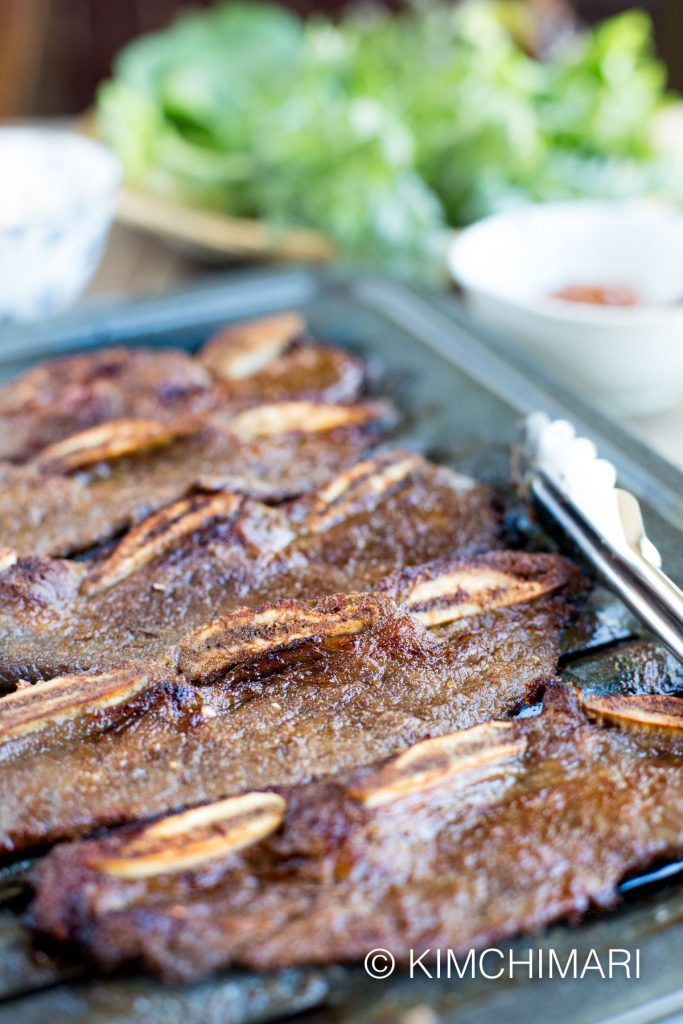 Kalbi Korean Short Ribs Oven Grilled