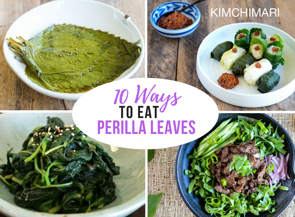 10 Ways to Eat Perilla Leaves