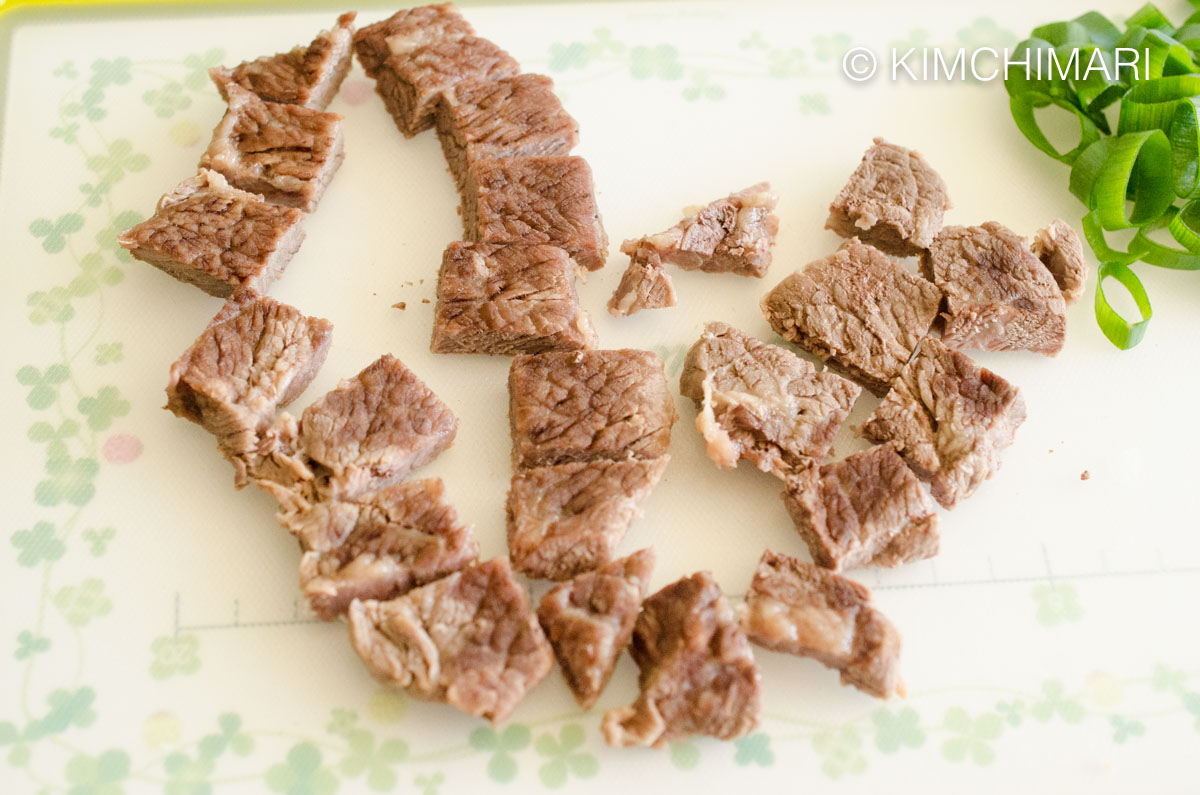 Beef Slices for Beef and Radish Soup Mu Guk
