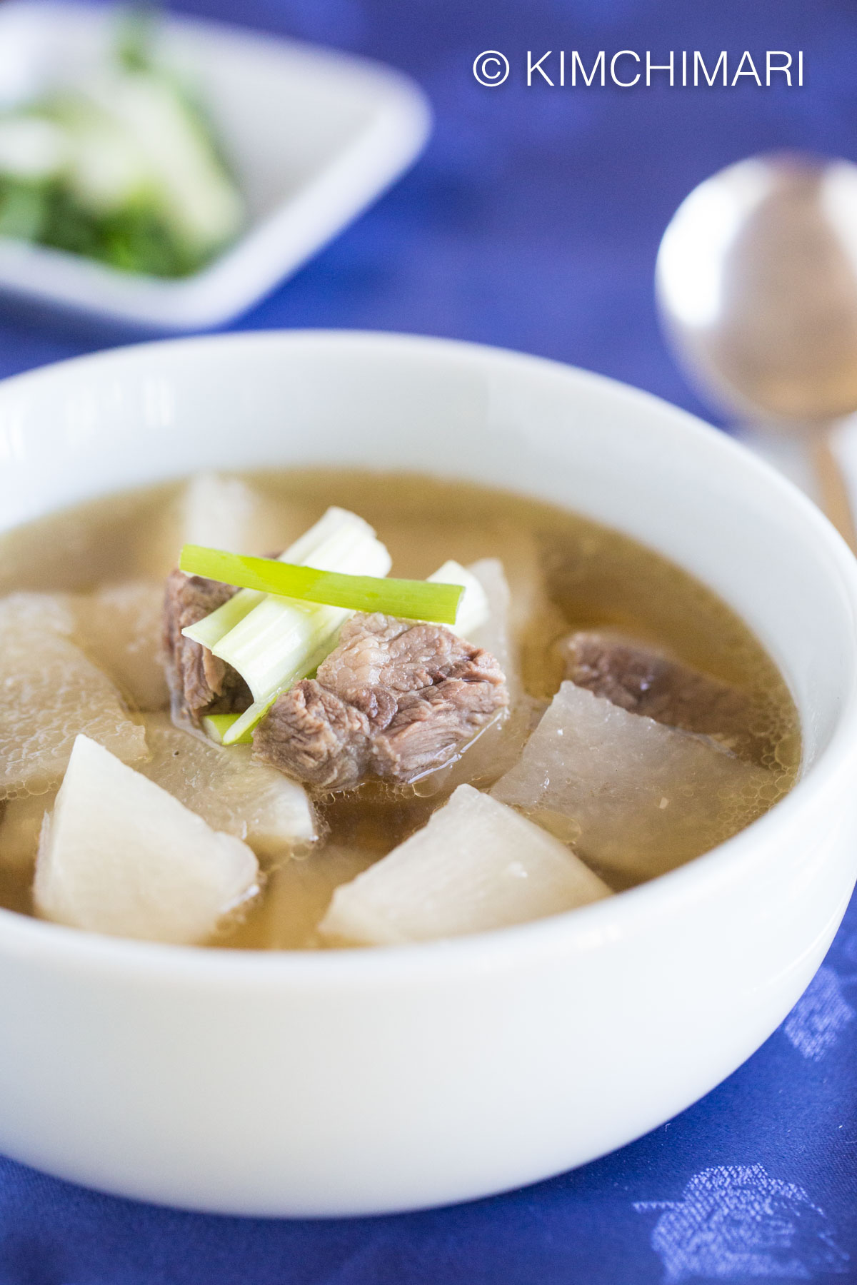 Beef and Radish Soup- Korean Seogogi Mu Guk