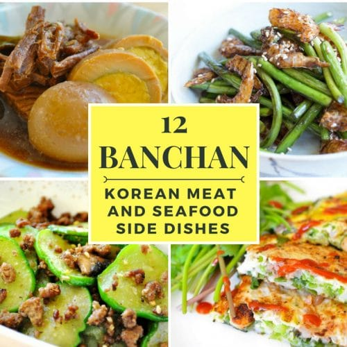 12 Korean Meat Seafood Side Dishes